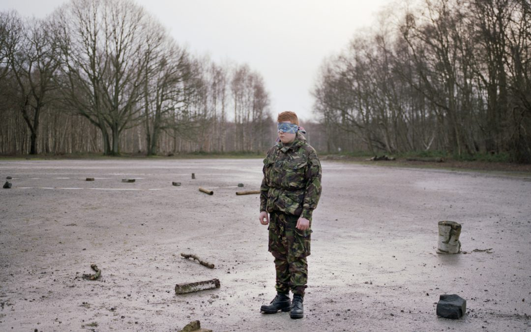 Fashion photographer Simon Martin has produced a uncanny set of pictures inside the world of military cadets.