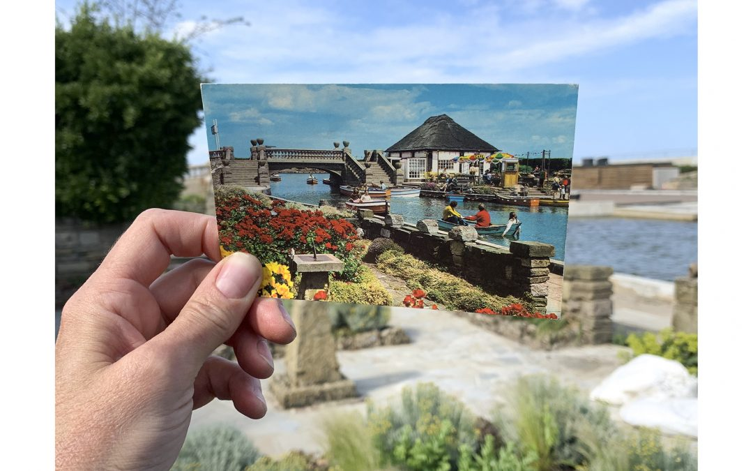 A chance discovery in her family archive gave a new perspective to Debby Besford's record of Great Yarmouth's Venetian Waterways.