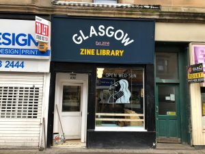 Glasgow Zine Library | Photography | Personal Work Journal
