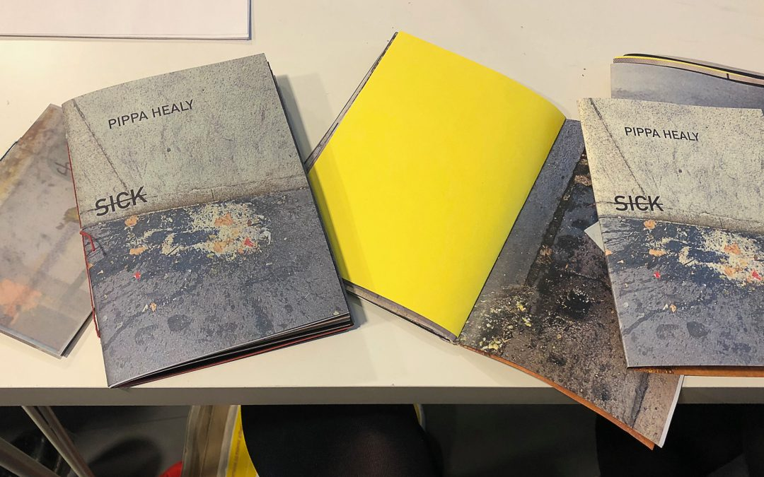 With her zine, Sick, Pippa Healy turns a physical reaction to a terror attack into an examination of grief & trauma